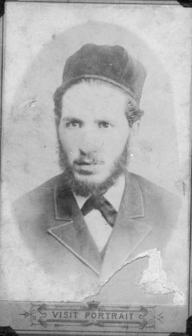"Abe Mirvish, ""Rabbi Chaim Mirvish, 25"""