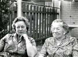 "Milner and Abrahams Family, ""1960 Marion and Annie"""