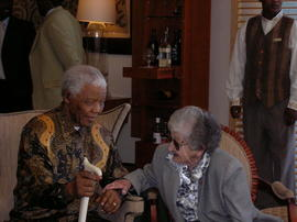 "Barsel Family""Barsel Family and Nelson Mandela 1"""
