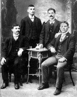 "Blieden Family, ""Benjamin, Yankel, Abraham and Julius"""
